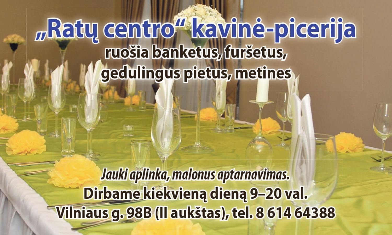 Optima 13 Picerijos salės nuoma