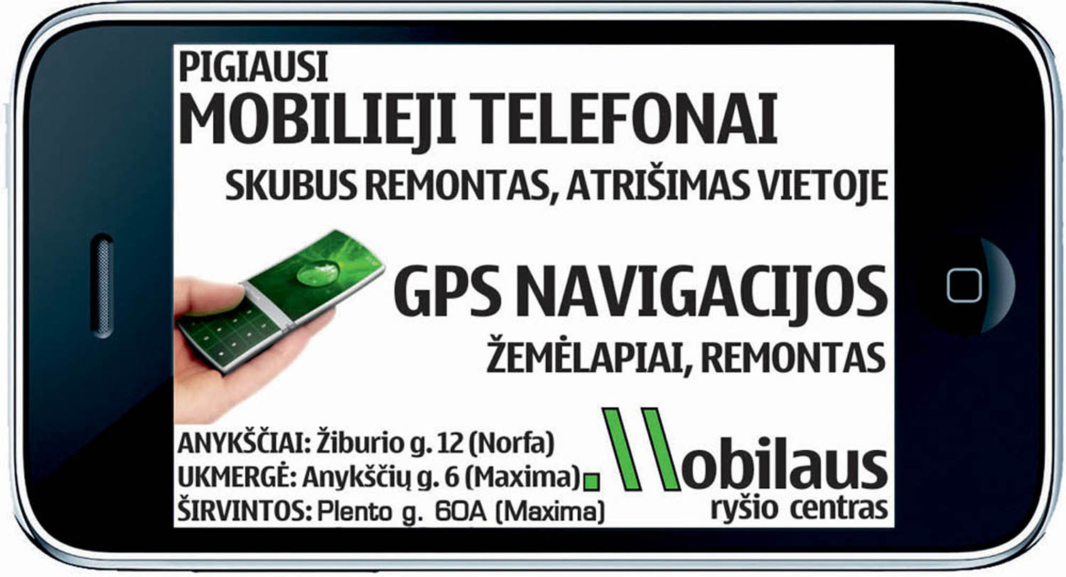 Telefonai Ukmergė
