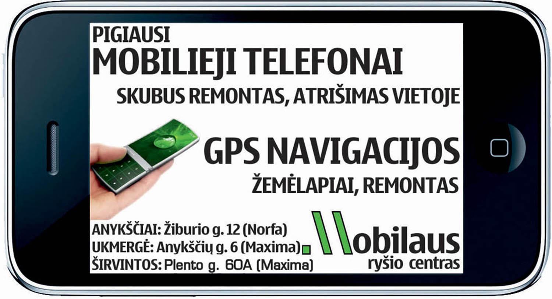 Telefonai Ukmergė
