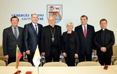 Ukmergėje lankėsi Apaštališkasis Nuncijus