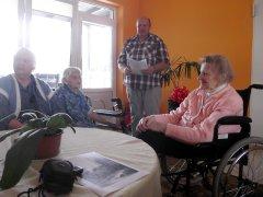 Senelių namuose liejosi poezijos posmai