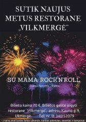 """Sutik naujus metus - """"Vilkmergės"""" restorane!"""