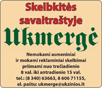 Savaitraštis Ukmergė