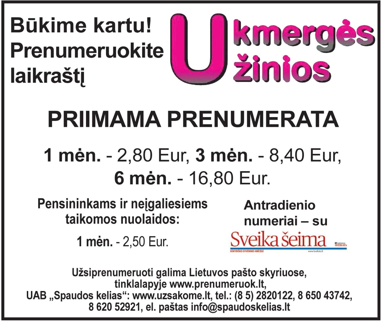 Prenumerata Ukziniu