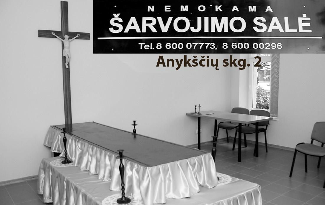 Laidojimo ir kremavimo paslaugos Ukmergėje
