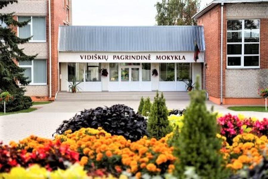 Šalia respublikos gimnazijų – Vidiškių pagrindinė mokykla