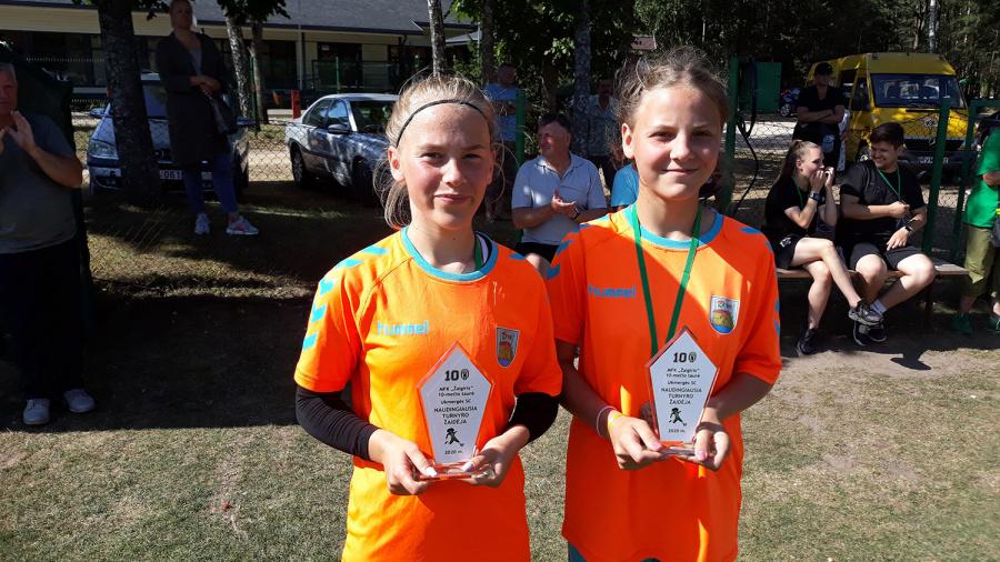 Mergaičių futbolo turnyras
