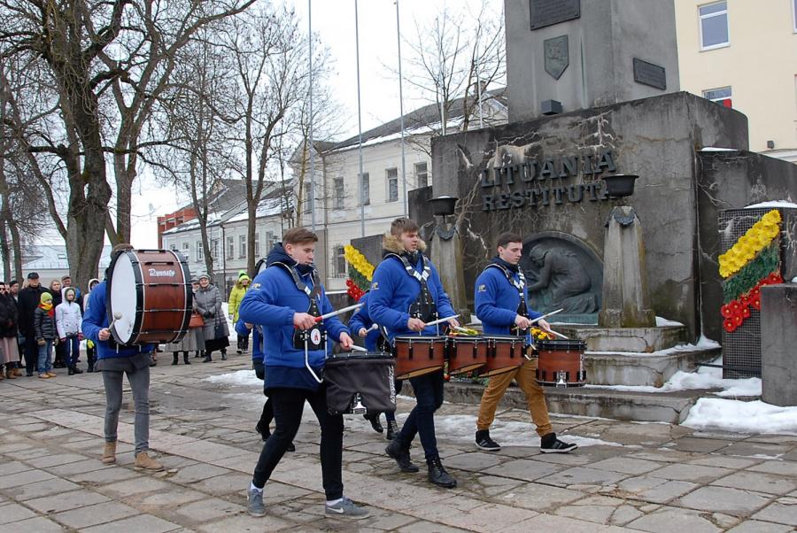 Griaudint būgnams, Lietuvos nepriklausomybės atkūrimo dienos minėjimas vyksta jau 14 kartą. Gedimino Nemunaičio nuotr.