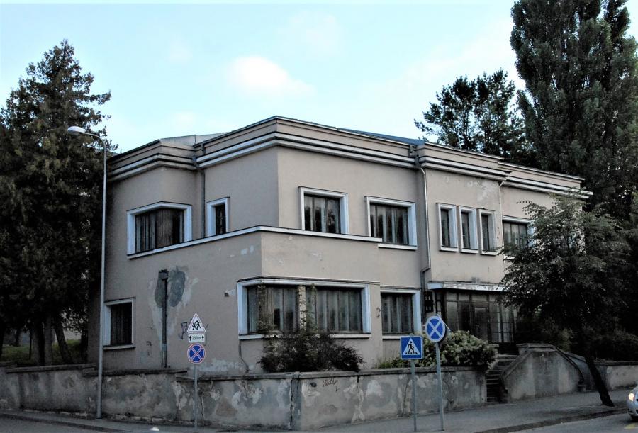 Buvusios vaikų bibliotekos pastatas.  Gedimino Nemunaičio nuotr.