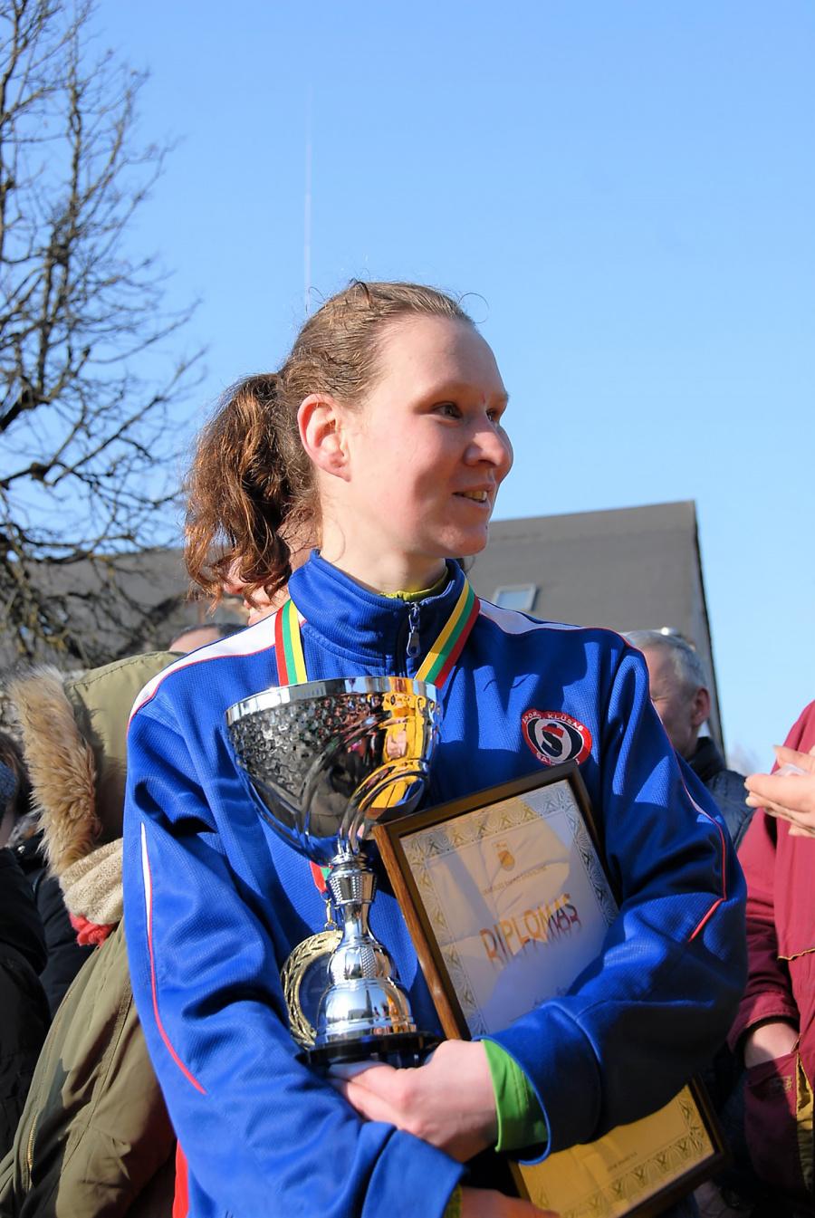 Bėgime nugalėjo Aušra Garunkšnytė.