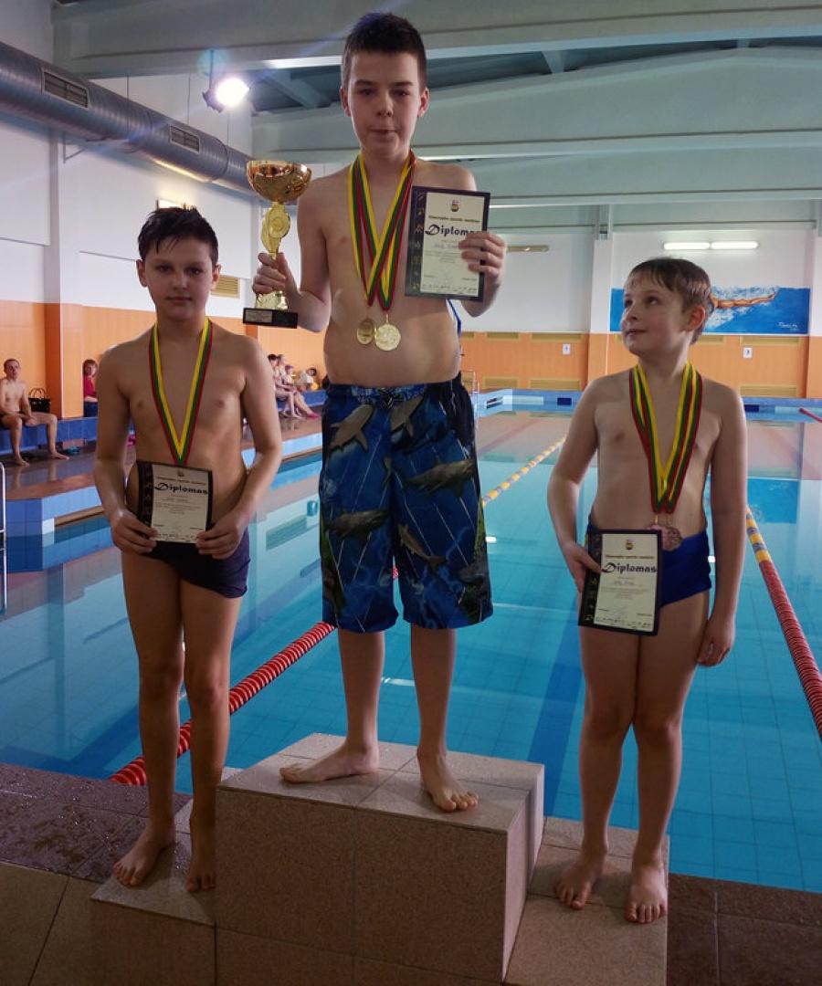 Ukmergės rajono šeimų plaukimo varžybos