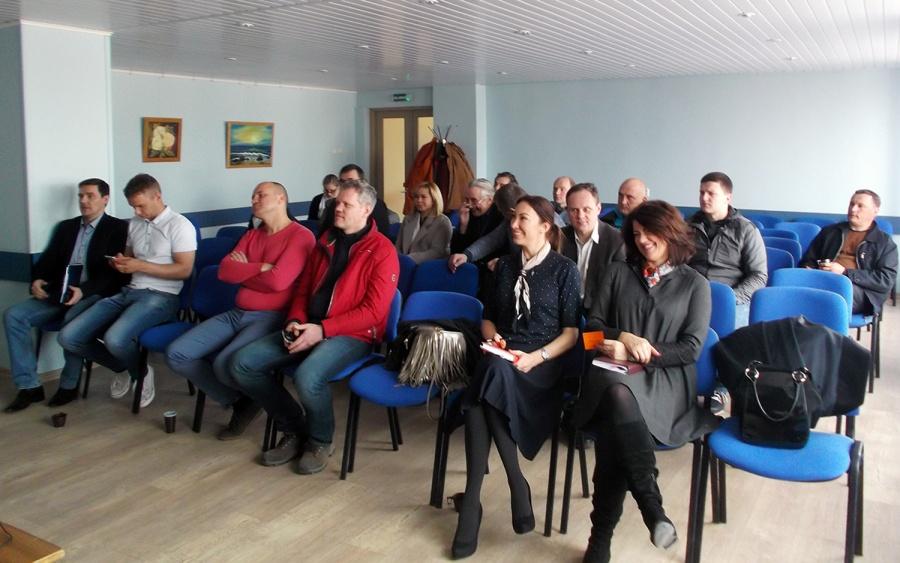 Ekologinių ūkių asociacijos visuotinis narių susirinkimas vyko Ukmergėje. Autorės nuotr.