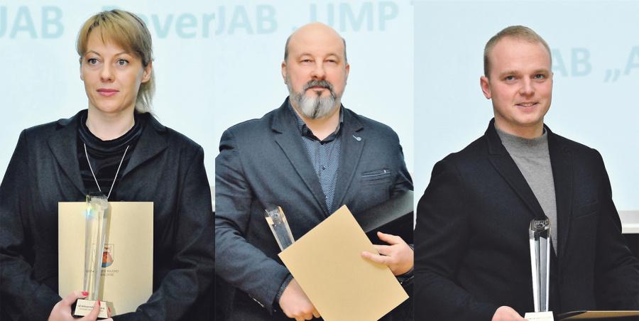 Padėkos įteiktos: B. Kielienei, V. Domarkui, P. Ušinskui.Gedimino Nemunaičio nuotr.