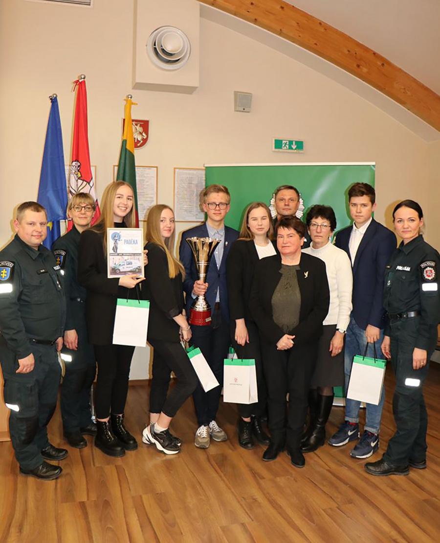 Konkurse nugalėjo Jono Basanavičiaus gimnazijos komanda.