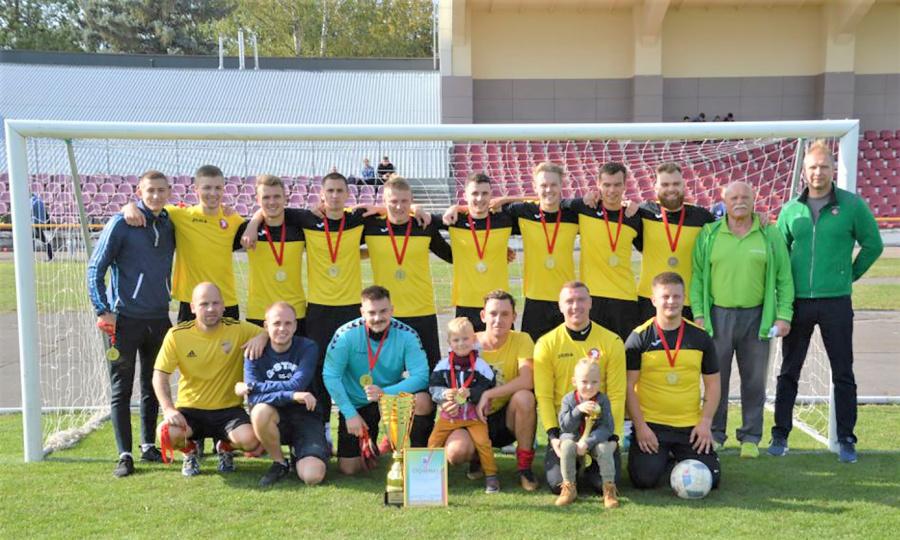 Pasibaigė rajono futbolo 7x7 pirmenybės.