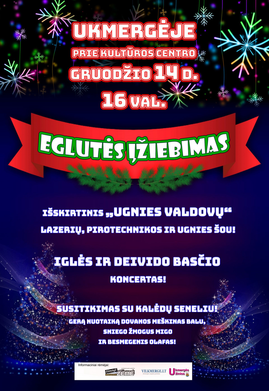 Artėja Kalėdų eglutės įžiebimo šventė