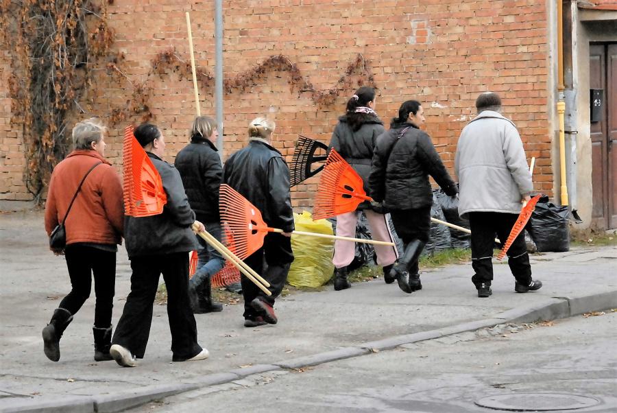Seniūnijos dairosi laikinų darbininkų pagal užimtumo didinimo programą. Gedimino Nemunaičio nuotr.