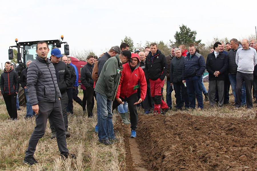 Lauko diena surengta Pabaisko seniūnijoje, Ramūno Nanartavičiaus ūkyje. Dainiaus Vyto nuotr.