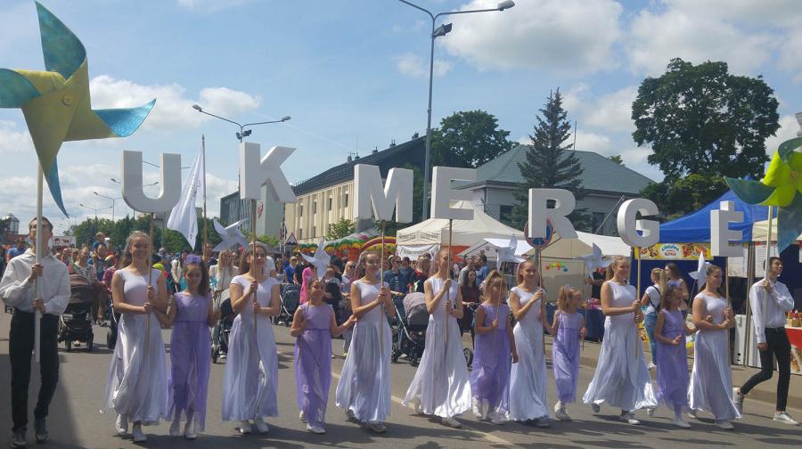 Miesto šventės tema šiemet buvo susijusi su vaikyste.