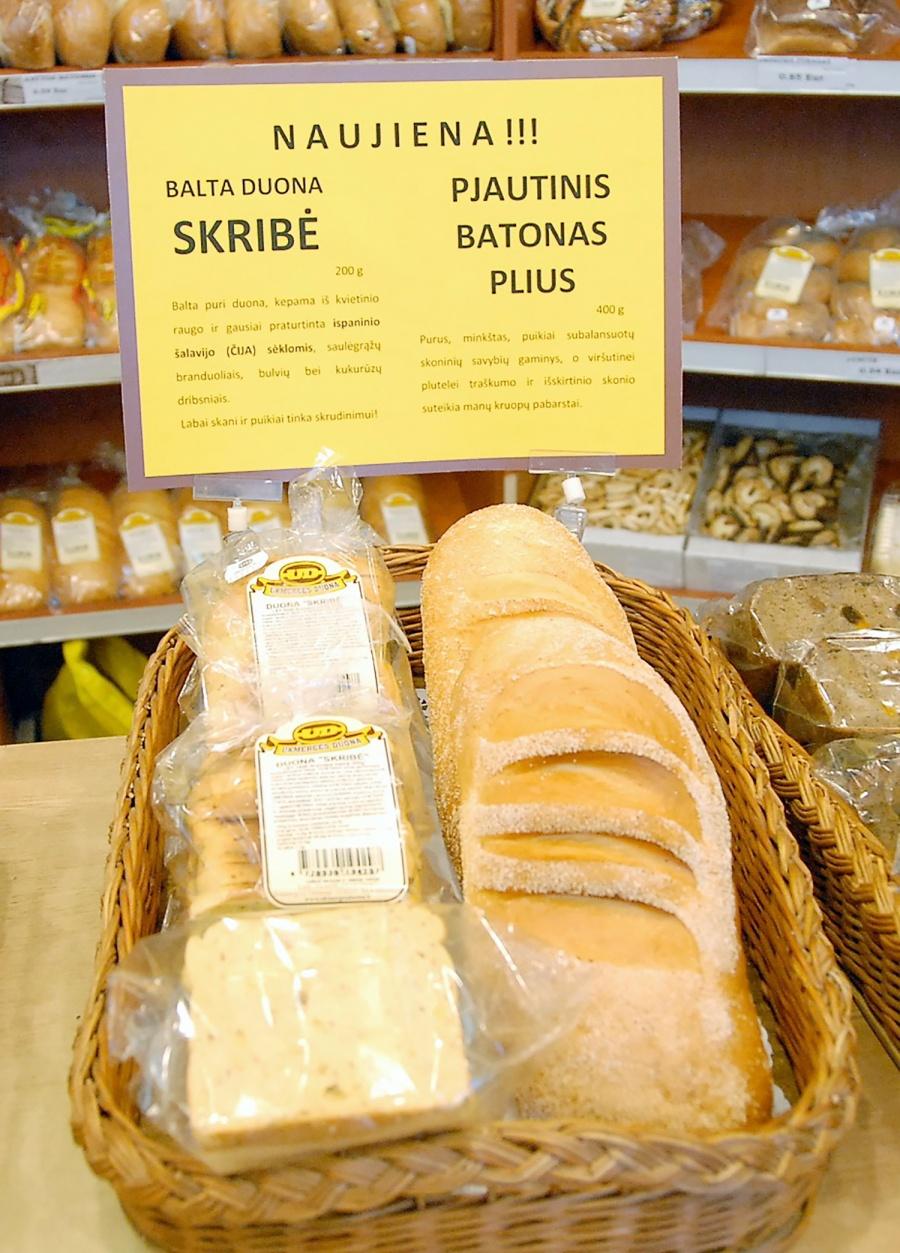 """""""Ukmergės duona"""" atnaujino gaminių asortimentą"""