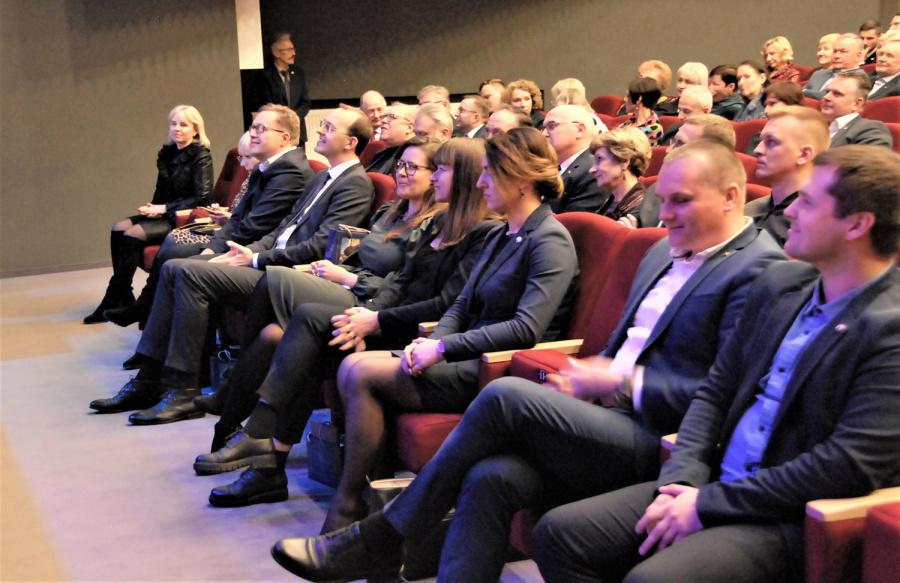 Gedimino Nemunaičio nuotr. Į konferenciją atvyko rajono vadovai, verslininkai ir svečiai.