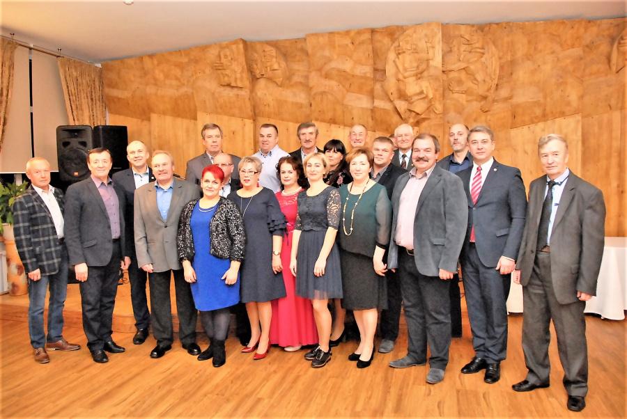Gedimino Nemunaičio nuotr.  Aktyviausi įmonių ir organizacijų profesinių sąjungų vadovai ir svečiai.