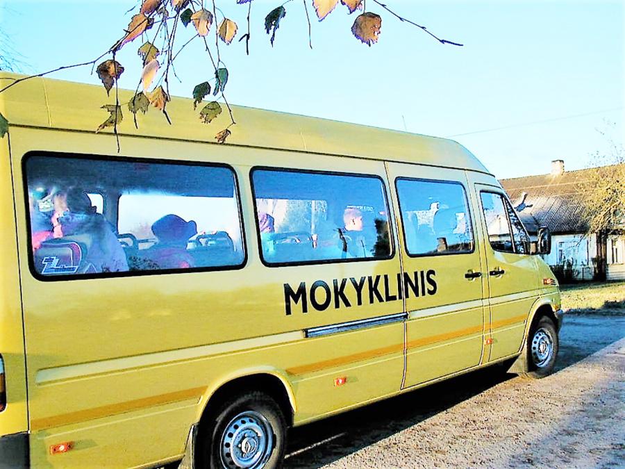 Autobusėlių sulauks dar trys mokyklos