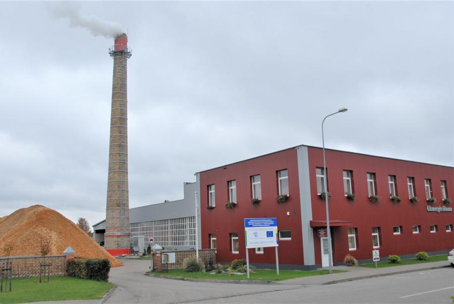 """Gedimino Nemunaičio nuotr. UAB """"Ukmergės šiluma"""" kainos vartotojams mažėja."""