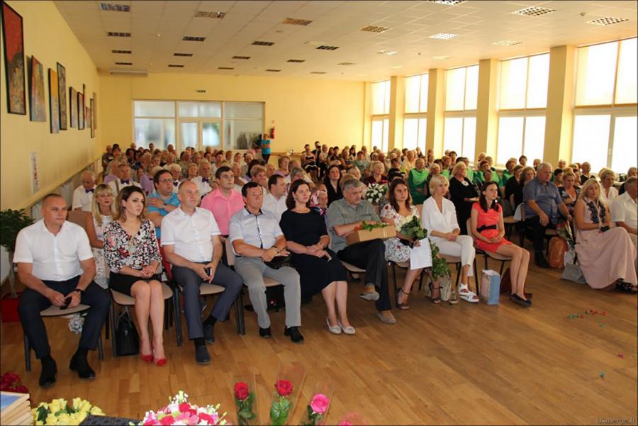 Į šventę susirinko gausus būrys svečių. Autorės nuotr.