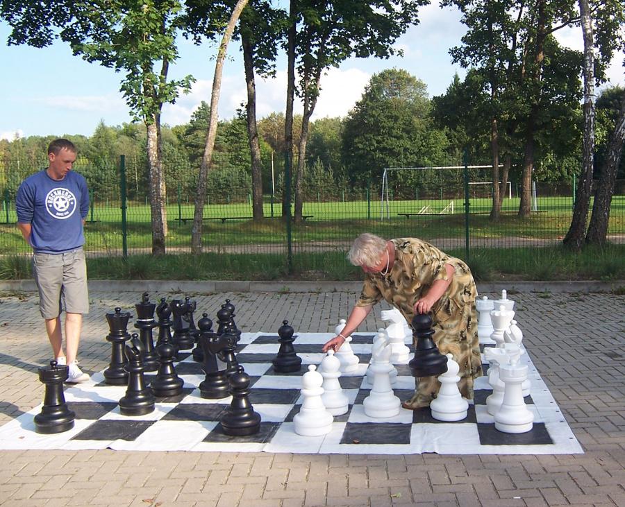Surengė smagų šachmatų turnyrą