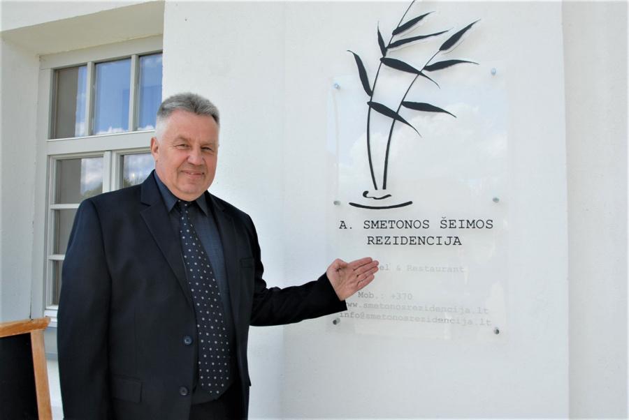 """UAB """"Ostina"""" vadovas Vladas Raišys. Gedimino Nemunaičio nuotr."""