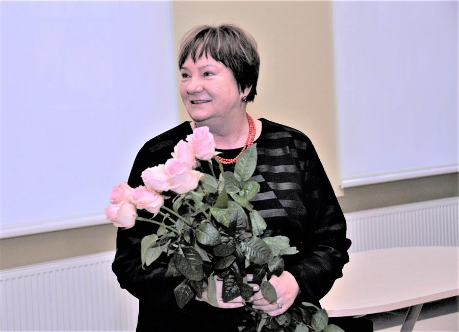 Gedimino Nemunaičio nuotr. Darbą pradėjo Ukmergės kraštotyros muziejaus direktorė Violeta Reipaitė.