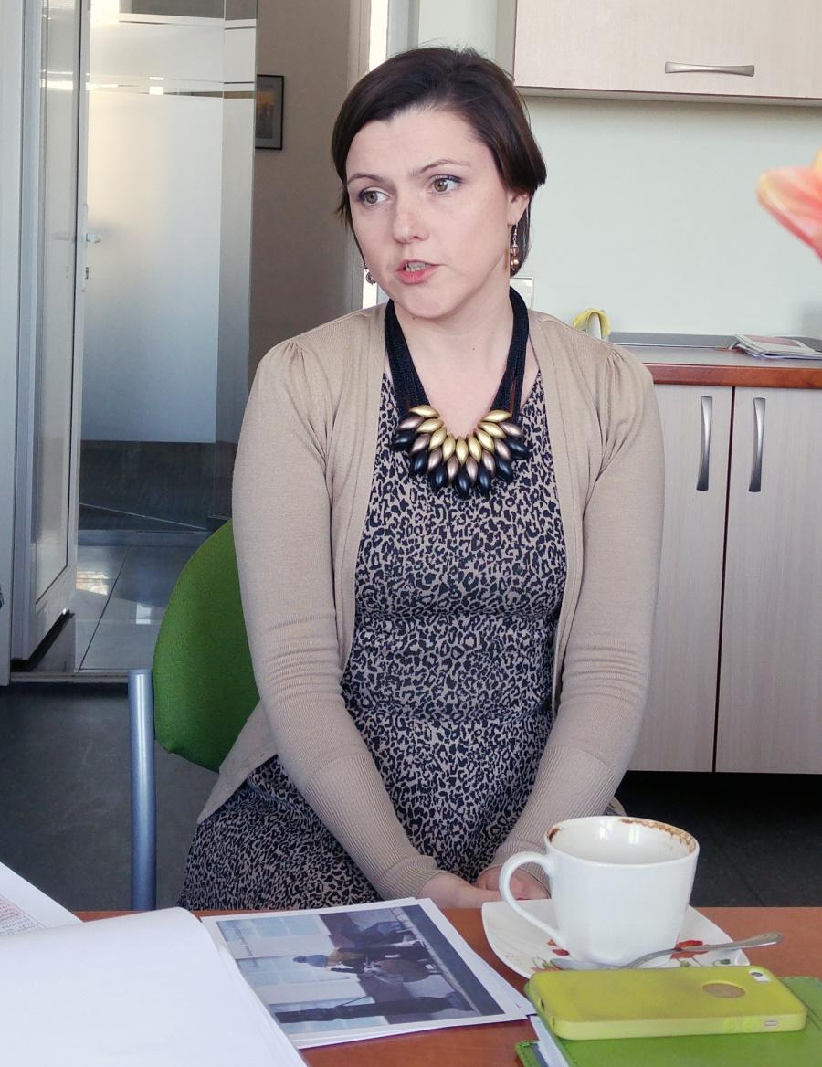 Ukmergės turizmo ir verslo informacijos centro direktorė Lina Baublienė. Autorės nuotr.