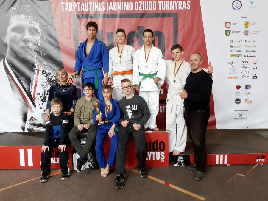 Turnyre – sportininkai iš Lietuvos ir užsienio