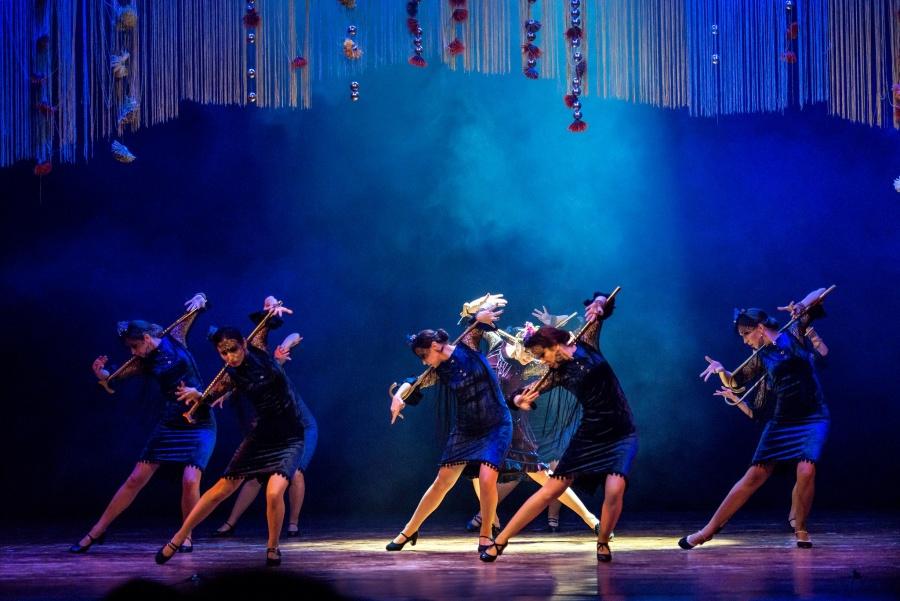"""Išskirtinį grožį Lietuvoje kuriantis flamenko šokio teatras """"Sandra Domingo"""" atvyksta į Ukmergę"""