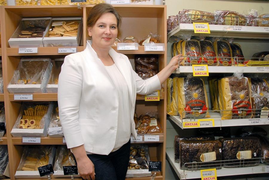"""""""Ukmergės duonos"""" direktorė Eurika Maselskienė. Gedimino Nemunaičio nuotr."""