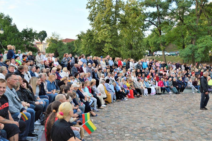 Į šventę susirinko gausus būrys žmonių. Autoriaus nuotr.