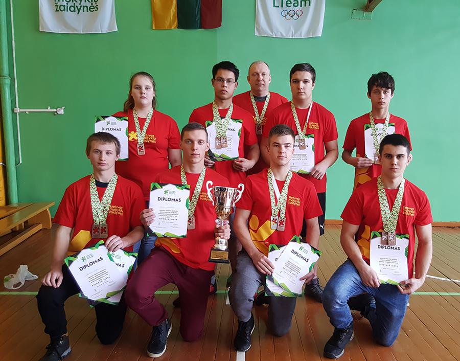 Sėkmingai pasirodė Taujėnų gimnazijos mokiniai